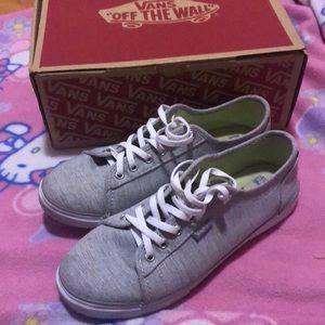 ⚠️FINAL PRICE: Grey Vans